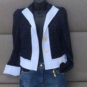 Escada Black Label Cropped Jacket